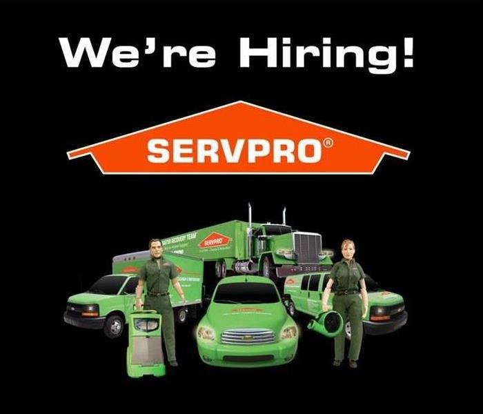 Community Join the SERVPRO team as a Cleaning and Restoration Technician